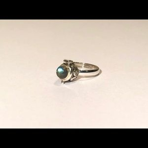 NEW! Labradorite Poison Ring